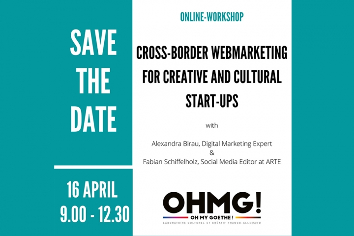 DAVE THE DATE Online-Workshop Crossborder Social Media Marketing